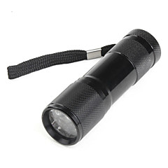LED-Zaklampen Handzaklampen LED lm 1 Modus - Zwart