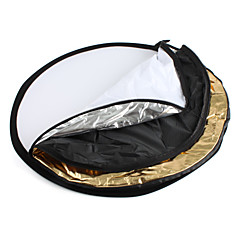 Pantalla de Reflexión Para Fotografía de Tamaño Grande, 5 en 1, de Plegar - Diámetro de 80cm