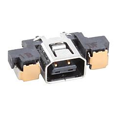 abordables Kits de Accesorios para Nintendo 3DS-Piezas de Repuesto Para Nintendo 3DS Piezas de Repuesto El plastico unidad