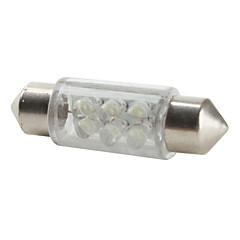 36mm 6-LED White Light Bulb for Car (DC 12V) High Quality LED Bulbs