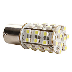 1156 3528 SMD 39-LED 1.44W 156LM White Light Bulb for Car (DC 12V)-Pair 1pc