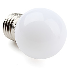 1W E26/E27 LED Globe Bulbs G45 12 SMD 3528 60-100lm Warm White 2700K AC 220-240V 1pc