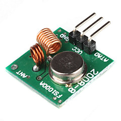 Için 433MHz kablosuz verici modülü superregeneration (arduino için) (yeşil)