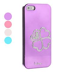 Недорогие Кейсы для iPhone-Кейс для Назначение Apple Кейс для iPhone 5 Цветы Цветы Твердый ПК для Apple