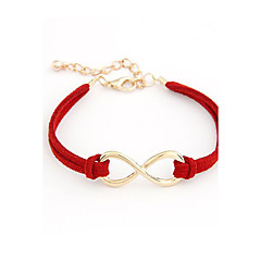 Women's Charm Bracelet Leather Bracelet Friendship Statement Jewelry Adjustable Fashion Personalized Costume Jewelry Leather Alloy