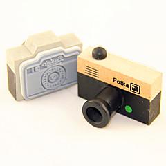 tanie Artykuły biurowe-Deseń drewna Stamp aparatu