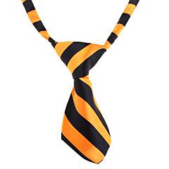 お買い得  猫の服-ネコ / 犬 ネクタイ / ボウタイ 犬用ウェア ホワイト / オレンジ ナイロン コスチューム ペット用 結婚式