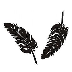 Little Feather patroon auto decoratieve sticker
