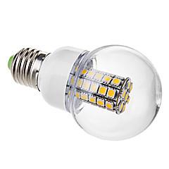 preiswerte LED-Birnen-3000lm E26 / E27 LED Kugelbirnen G60 47 LED-Perlen SMD 5050 Warmes Weiß 220-240V