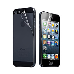 12X Wissen Front en Back Screen Protector voor de iPhone 5
