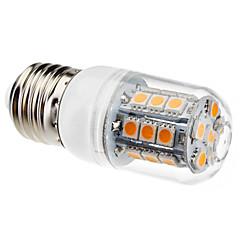 preiswerte LED-Birnen-3W 450-550lm E26 / E27 LED Mais-Birnen T 27 LED-Perlen SMD 5050 Warmes Weiß 220-240V