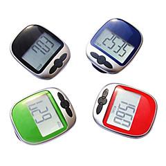 Kronometre Mesafe Takip Çalışma Yürüyüş Yeşil Kırmızı Siyah Mavi