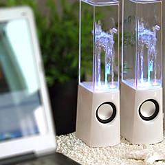 abordables Decoración del Hogar-caja del altavoz del diseño de columna de agua llevado