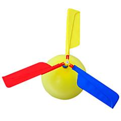 abordables globos-Artilugio Volador Globos Helicóptero Juguetes Helicóptero Novedades Inflable Fiesta El plastico Niños Adulto 1 Piezas