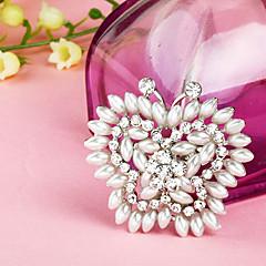 Broche completa mariposa de la perla