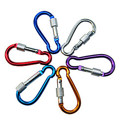 5cm Aluminum Alloy Fashion Buckle for Climbing(Random Color)