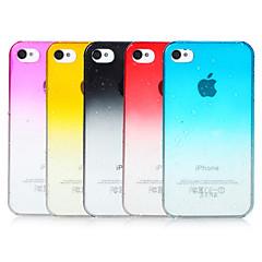 Недорогие Кейсы для iPhone-Кейс для Назначение iPhone 4/4S Кейс на заднюю панель Твердый ПК для iPhone 4s / 4