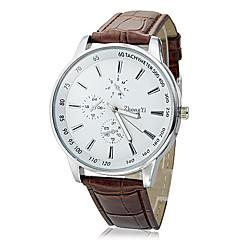 お買い得  メンズ腕時計-ドレスウォッチ カジュアルウォッチ PU バンド