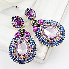 preiswerte Ohrringe-Damen Tropfen-Ohrringe - Strass, Diamantimitate Tropfen Europäisch Für Party / Alltag