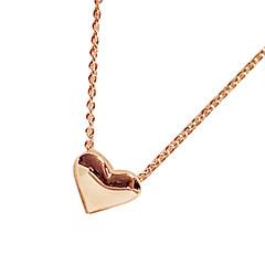 preiswerte Halsketten-Damen Anhängerketten - Herz, Liebe Modisch Golden Modische Halsketten Schmuck Für Party
