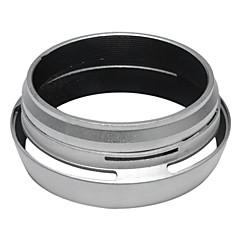 Filtre Adaptör halkası + Fujifilm Fuji X100 için Parasoley LH-X100 gümüş değiştirin
