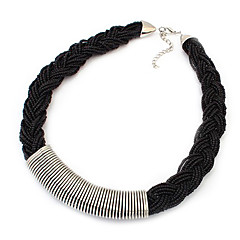 お買い得  ネックレス-女性用 合金 ストランドネックレス - 合金 ネックレス 用途 パーティー 日常