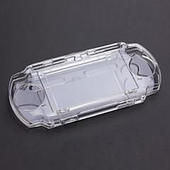 저렴한 PSP 악세서리-PSP 3000 3002를위한 명백한 단단한 케이스