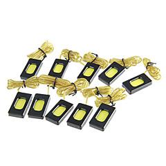 preiswerte LED Autobirnen-2W 1xCOB 120LM 7500K kühles weißes Licht-LED für Auto (12V, 10 Stück)