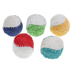 tanie -Zabawka dla psa Zabawki dla zwierząt Owalne Zabawka do czyszczenia zębów Gąbki do Mycia Piłka tenisowa Dla zwierząt domowych