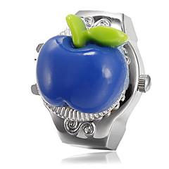 preiswerte Tolle Angebote auf Uhren-Damen Quartz Ringuhr Japanisch Armbanduhren für den Alltag Legierung Band Charme Silber