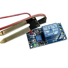 お買い得  センサー-(Arduinoのための)リレーモジュール土壌水分リレー土壌水分センサー、スマートカー