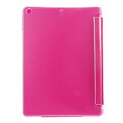 tanie iPad Air: Etui/Pokrowce-Kılıf Na iPad Air Other Pełne etui Solid Color Skóra PU na iPad Air