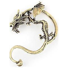 preiswerte Ohrringe-Damen Ohrstecker Ohr-Stulpen - Drache damas Personalisiert Einzigartiges Design Retro Schmuck Silber / Bronze Für Party Alltag