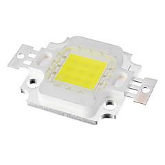 10W 10000K 700LM 9xIntegrate Enfriar la luz blanca LED de la viruta (DC 9-11V)