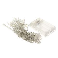 voordelige LED & Verlichting-4m Verlichtingsslingers 40 LEDs Warm wit Wit Paars Geel Blauw Rood