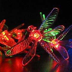 お買い得  LED ストリングライト-RGBストリップライト / ストリングライト 30 LED RGB 変色 / #