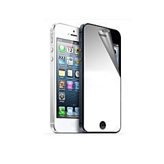 Недорогие Защитные пленки для iPhone SE/5s/5c/5-Защитная плёнка для экрана Apple для iPhone 6s iPhone 6 iPhone SE/5s 1 ед. Защитная пленка для экрана и задней панели Зеркальная