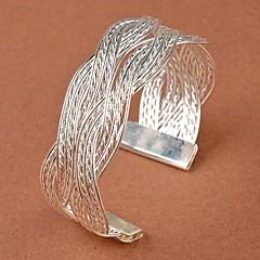 a867805a8d3 baratos Pulseira-Mulheres Entrançado Bracelete Pulseiras Algema Flor  senhoras Original Vintage Festa Trabalho Pulseiras Jóias
