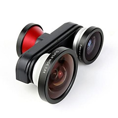 cheap New Arrival-Fish Eye Macro Super Wide Self-timer Fisheye 4 in 1 Lens Camera for iPhone 5/5S