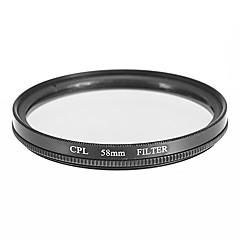 カメラ用CPLフィルター(58ミリメートル)
