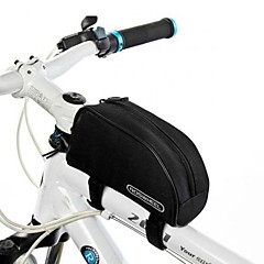 Bike Bag 1.5LBike Frame Bag Waterproof Reflective Strip Skidproof Wearable Bicycle Bag 600D Polyester Cycle Bag Cycling/Bike