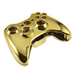 cheap Xbox 360 Accessories-Replacement Housing Case for XBOX 360 Wireless Controller  (Golden)