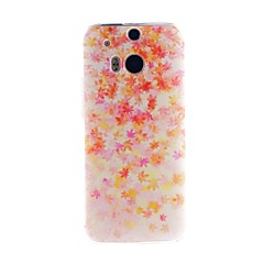 For HTC Case Pattern Case Back Cover Case Tile Soft TPU HTC Cases / Covers for HTC