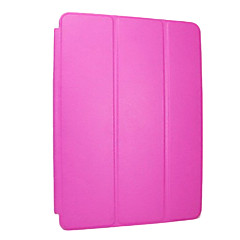 billige Etuier / Covers Til iPad Air-Etui Til iPad Air Med stativ Auto Sluk Origami Fuldt etui Helfarve PU Læder for iPad Air