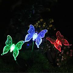 preiswerte Ausgefallene LED-Beleuchtung-Gartenleuchte LEDs LED Wiederaufladbar / Dekorativ 1pc