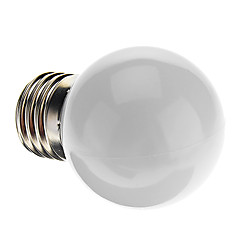 preiswerte LED-Birnen-0.5W E26/E27 LED Kugelbirnen G45 7 Dip - Leuchtdiode 50 lm Natürliches Weiß K Dekorativ AC 220-240 V