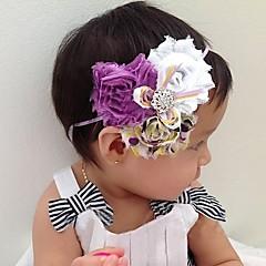 Çocuk Bebekler Toddlers Girls Boys Elastik Kafa Çiçek Saç Dekorasyon Hairband Yeni