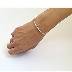preiswerte Armbänder-Damen Perlenbesetzt Strang-Armbänder - Perle Einzigartiges Design, Modisch Armbänder Gold Für Party / Alltag