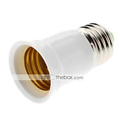billiga LED-tillbehör-ZDM® 1st E27 till E27 E26 / E27 85-265V Ljusuttag Plast och metall / Plast