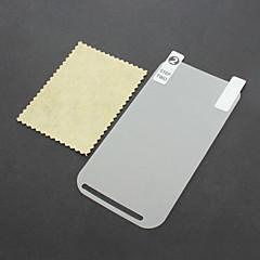 Protetor de Tela LCD com pano de limpeza para o HTC One SV